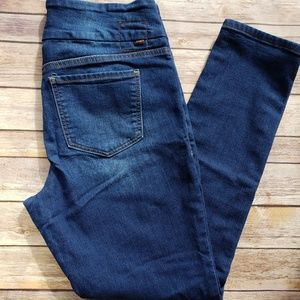 Jag 12 Pull On High Rise Skinny Jeans Blue EUC